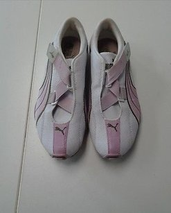 Puma Sneakers Pink And White Athletic