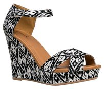 Qupid Multi/Print Wedges
