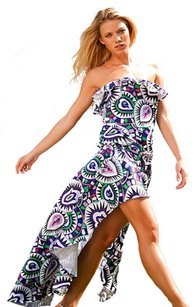 Rachel Lym Rachel Lym Women's Lola Mosaic Swim Coverup Dress M