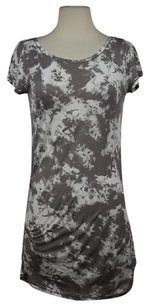 Rachel Roy short dress Taupe Rachel Womens Tie Dye Shirt Above Knee on Tradesy