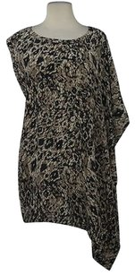 Rachel Zoe Womens Printed Sleeveless Casual Shirt Tunic