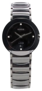 Rado Ceramic Rado Sintra Black Diamond Dial 19mm Unisex Watch