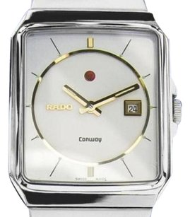 Rado Vintage Swiss Rado Conway Mens Stainless Steel Automatic Watch 80s Scx97
