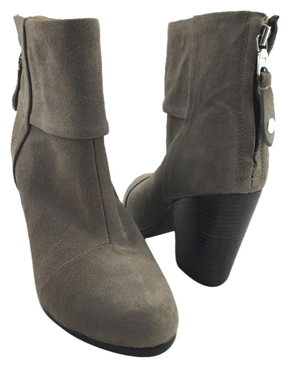 Rag & Bone Grey Classic Newbury Ankle Boots/Booties Size US 6 Regular (M, B)