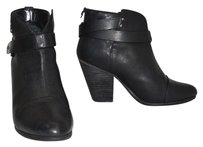 Rag & Bone & Black 'harrow' Ankle black leather Boots
