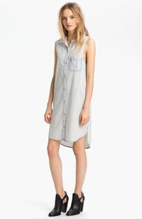 Rag & Bone short dress Blue Jean Norfolk Bleach on Tradesy