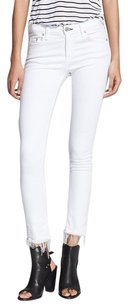Rag & Bone The Crop Jean Frayed Skinny Jeans