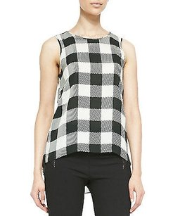 Rag & Bone Harper Plaid Top Multi-Color