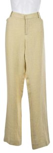 Ralph Lauren Black Label Womens Dress Linen Trousers Pants