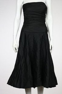 Ralph Lauren Black Label Womens Sheath Formal Strapless Dress
