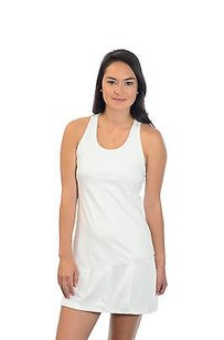 Ralph Lauren Ralph Lauren Bright White Classic Racerback Pleated Tennis Dress