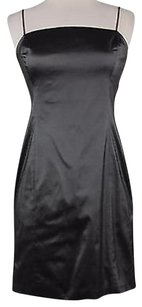 Ralph Lauren Ralph Womens Solid Metallic Sleeveless Sheath Dress