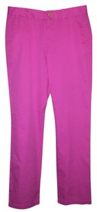 Ralph Lauren Straight Pants Pink
