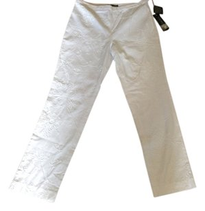 Ralph Lauren Straight Pants White