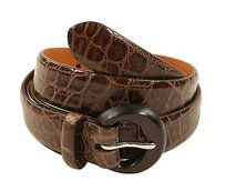 Ralph Lauren Womens Ralph Lauren Purple Label Alligator Belt