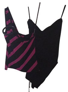 Rampage Top Black/Hot Pink