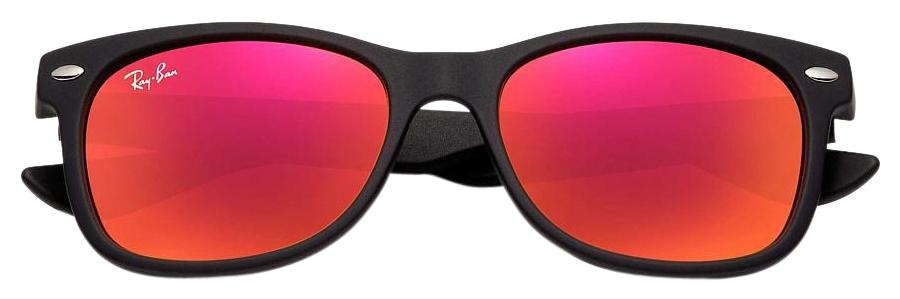 11d41aa911e official store ray ban new kids new wayfarer sunglasses matte black red  multilayer ea293 ae142