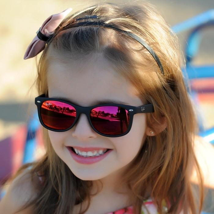 new wayfarer sunglasses 1qul  Kids New Wayfarer Sunglasses, Matte Black/Red Multilayer,