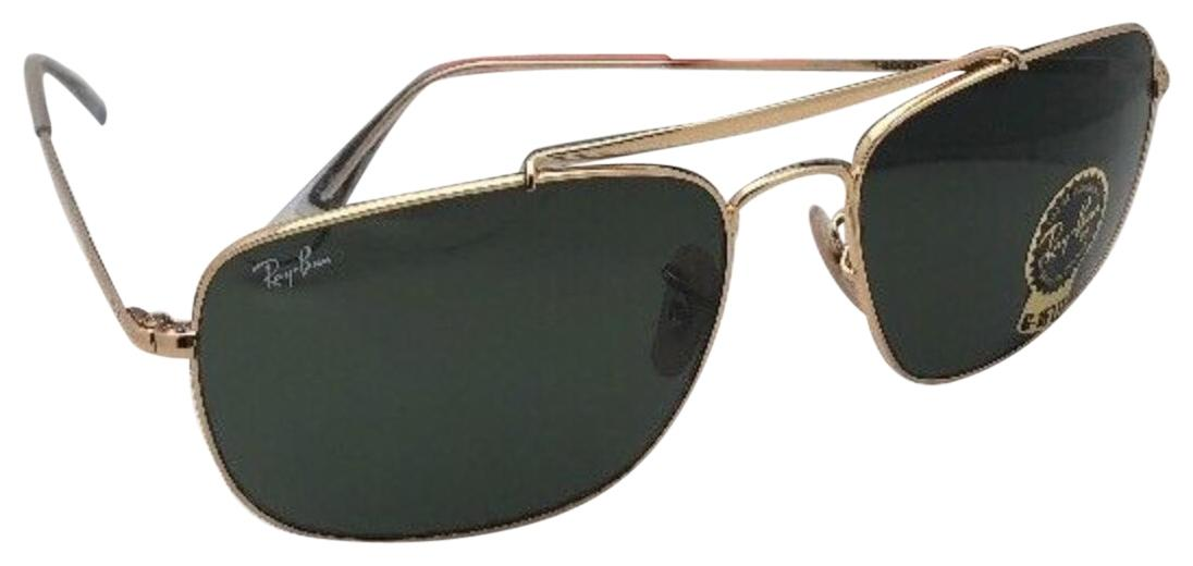 Ray-Ban New RAY-BAN Sunglasses THE COLONEL 3560 001 61-17 Gold ...