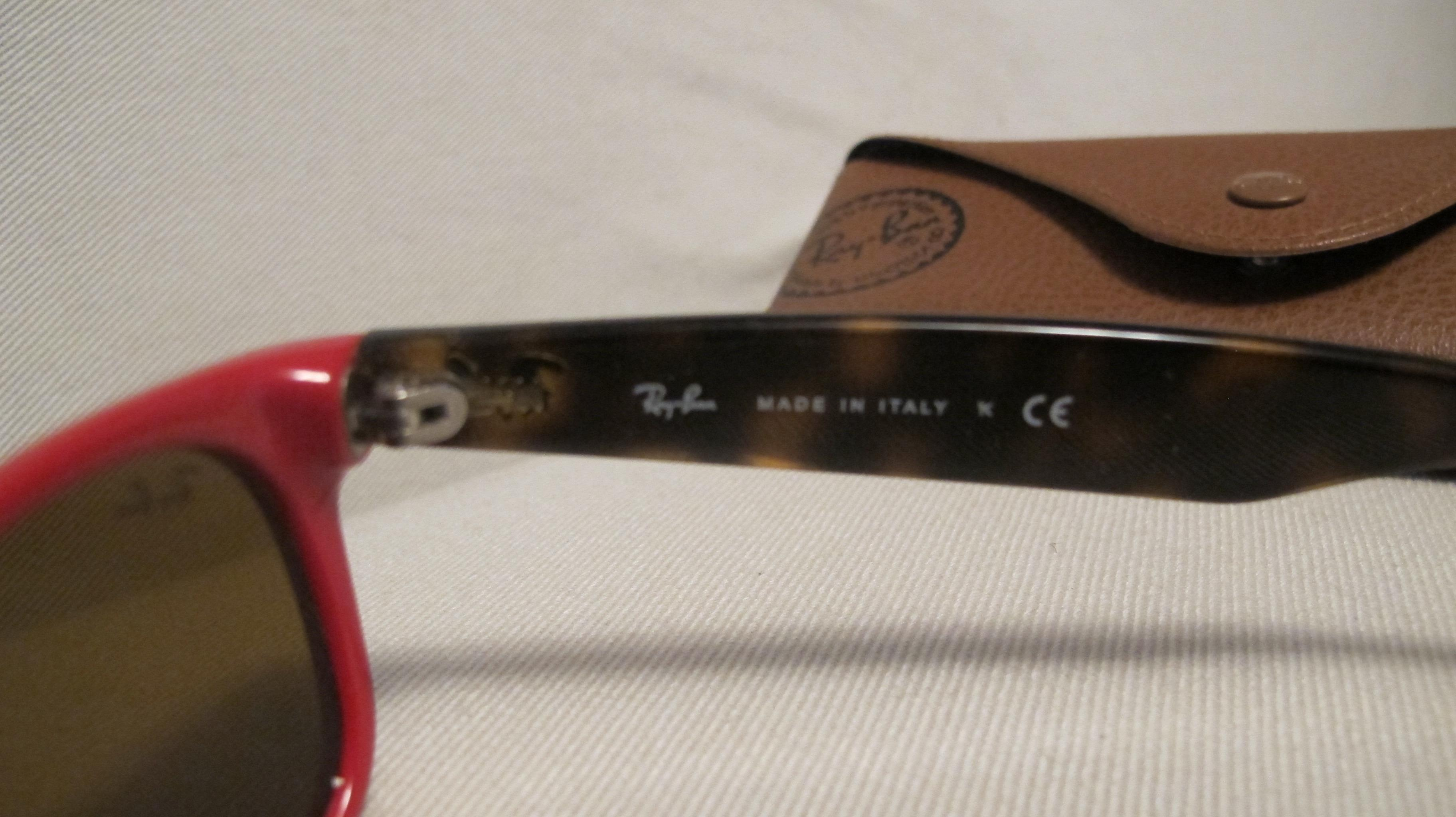 0343c937f3 ... order ray ban red and tortoise new wayfarer remix sunglasses tradesy  0f6e2 1e732