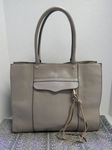 Rebecca Minkoff Mab Putty Leather Tote in Taupe