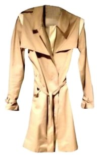 Rebecca Minkoff Full Length Leather Belted Trench Coat