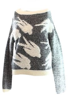 Rebecca Taylor Gray Womens Sweater