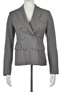 Rebecca Taylor Rebecca Taylor Womens Gray Speckled Blazer Wtw Career Polyester Jacket