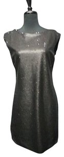 Rebecca Taylor Sequins Scoop Neck Lined Knee Length 6430 A Dress