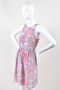 Rebecca Taylor Gray Pink Dress