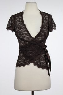 Rebecca Taylor Womens Top Brown