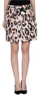 RED Valentino Leopard Skirt Multi