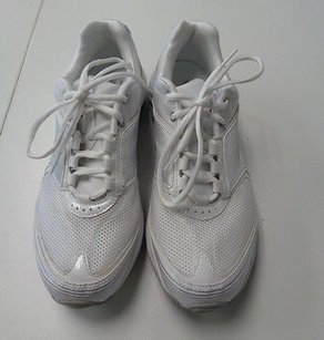 Reebok Lace Up Sneakers White Athletic