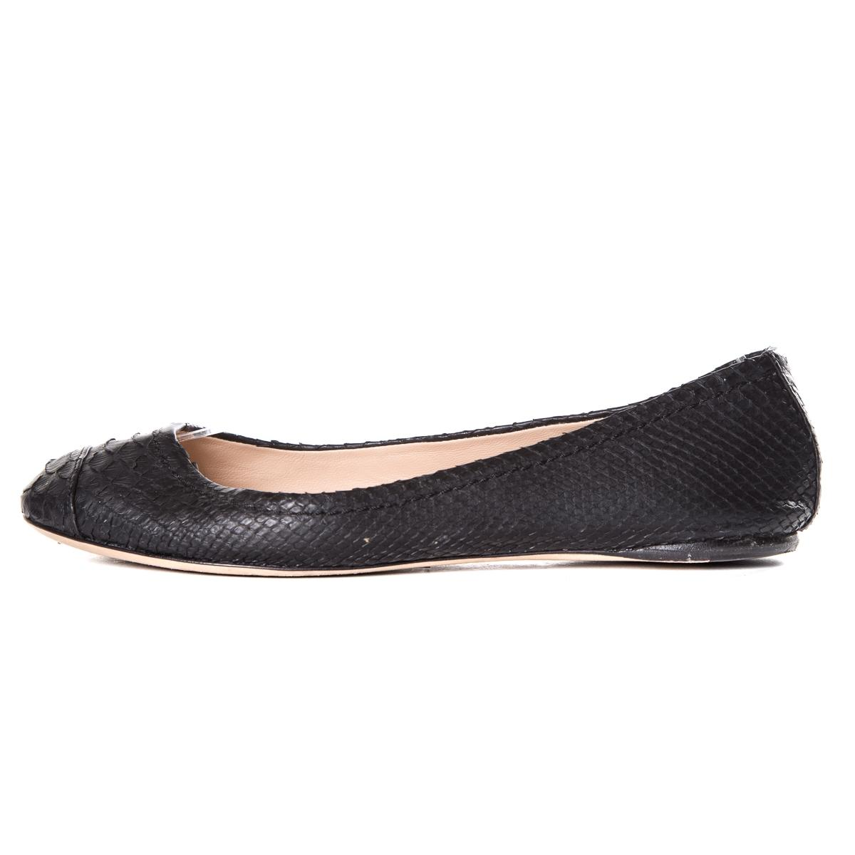 genuine online Reed Krakoff Embossed Round-Toe Flats discount pictures outlet good selling pick a best for sale clearance outlet store dQrPUxby