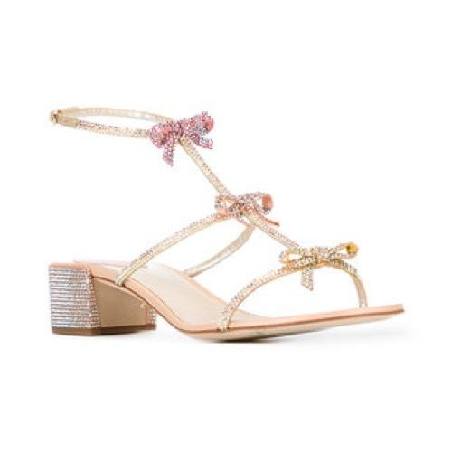 marketable cheap online René Caovilla embellished ribbon sandals sale release dates cheap clearance recommend online cheap wide range of j8p9A2i