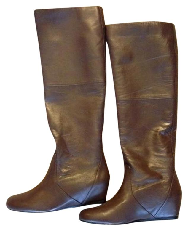 report signature report earling wedge brown boots on sale