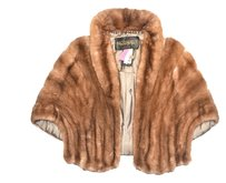 RHOMBERG'S VINTAGE FUR Jacket Coat Stole Cape