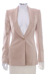 Richard Tyler 8 Evening Jacket Acetate Rayon Darted Gold Blazer