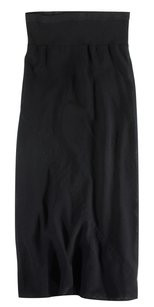 Rick Owens 42 Black It Long Mp Skirt