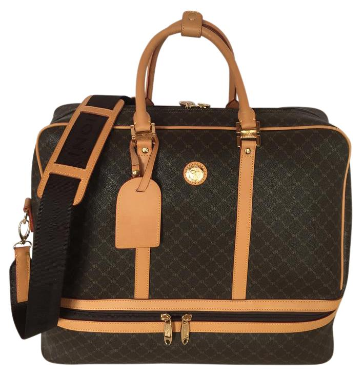 Rioni Weekender With Shoe Compartment Brown/Saddle Travel Bag on ...