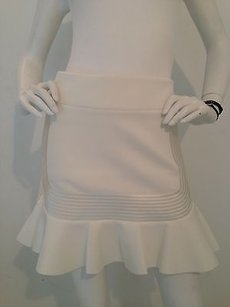 Robert Rodriguez Mini Skirt White