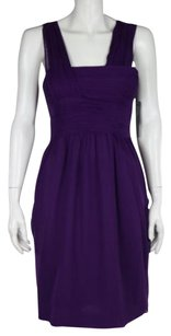 Robert Rodriguez Womens Sheath Silk Formal Knee Length Dress