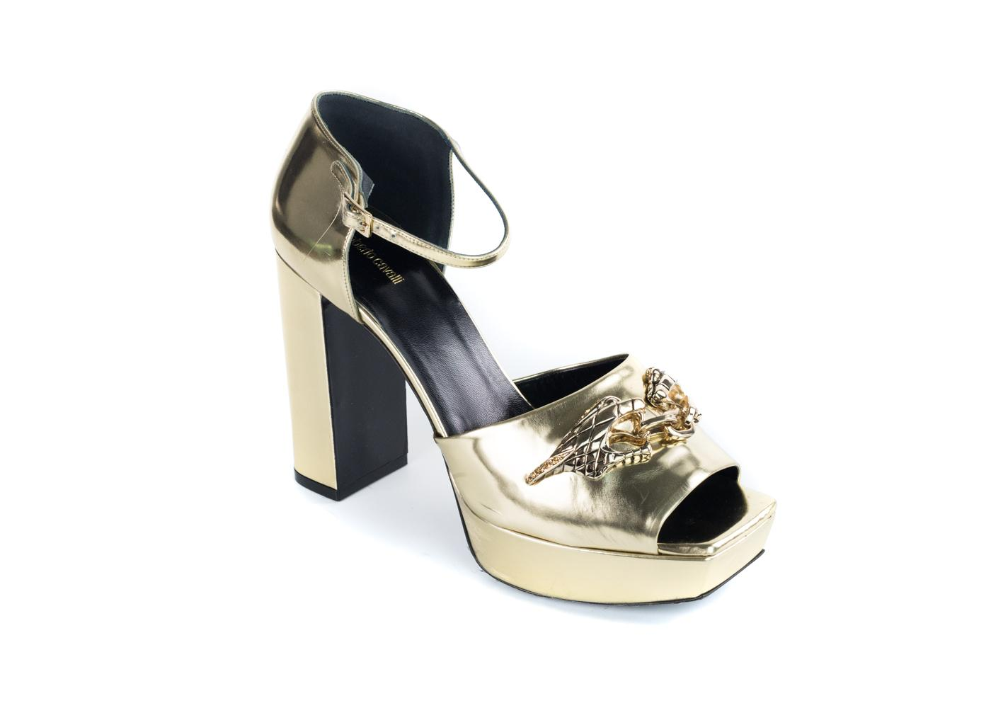Roberto Cavalli Metallic Platform Pumps sale shop for outlet affordable outlet 2015 discount cheap online low price fee shipping 2cqeXsl