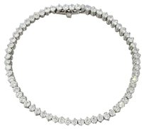 Roberto Coin Modern Estate 18k White Gold 5.00ctw G Vs1 Roberto Coin Tennis Bracelet
