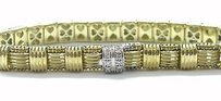 Roberto Coin Roberto Coin 18kt Appassionata Diamond Bracelet Yellow Gold 7