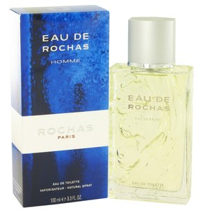 Rochas EAU de ROCHAS HOMME by ROCHAS EDT Spray for Men ~ 3.4 oz / 100 ml