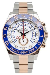 Rolex 18K Yacht-Master II RG/SS Steel 44mm Men's Watch