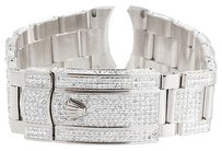 Rolex Brand,Mens,Rolex,Datejust,Ii,41mm,Pave,Set,Diamond,Band,With,9,Ct.,7,Inch