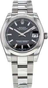 Rolex DateJust 178240 31mm Automatic Wrist Watch in Stainless Steel RLXSMD53