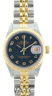Rolex LADIES ROLEX DATEJSUT 2-TONE WATCH WITH ROLEX BOX & APPRAISAL